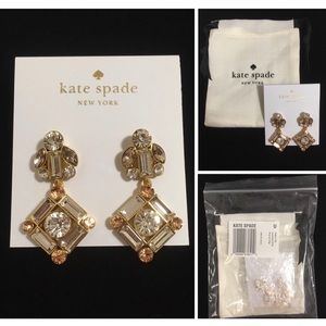 🆕KATE SPADE ♠️ -COCKTAILS & CONVERSATION EARRINGS